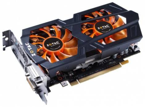Видеокарта ZOTAC GeForce GTX 660 (993МГц, GDDR5 2048Мб 6008МГц 192 бит)