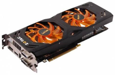 Видеокарта ZOTAC GeForce GTX 680 (1110МГц, GDDR5 2048Мб 6608МГц 256 бит)