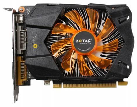 Видеокарта ZOTAC GeForce GTX 750 (1033МГц, GDDR5 2048Мб 5000МГц 128 бит)