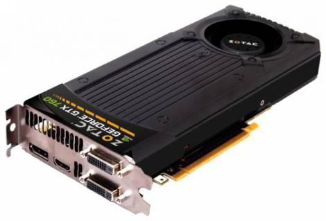 Видеокарта ZOTAC GeForce GTX 760 (993МГц, GDDR5 2048Мб 6008МГц 256 бит)