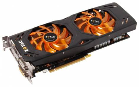 Видеокарта ZOTAC GeForce GTX 770 (1059МГц, GDDR5 2048Мб 7010МГц 256 бит)