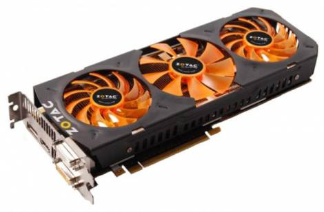 Видеокарта ZOTAC GeForce GTX 780 (941МГц, GDDR5 3072Мб 6008МГц 384 бит)