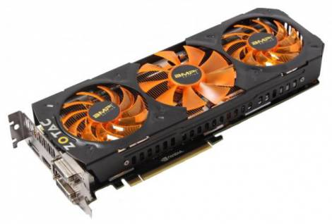Видеокарта ZOTAC GeForce GTX 780 Ti (1006МГц, GDDR5 3072Мб 7200МГц 384 бит)