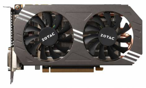 Видеокарта ZOTAC GeForce GTX 970 (1076МГц, GDDR5 4096Мб 7010МГц 256 бит)
