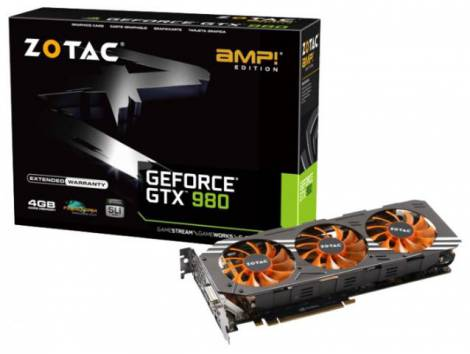 Видеокарта ZOTAC GeForce GTX 980 (1165МГц, GDDR5 4096Мб 7010МГц 256 бит)