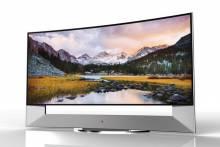 "LG представит 266 cm ""Ultra HD"" телевизор с изогнутым экраном"