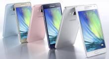 Смартфоны Galaxy A3 (A5)